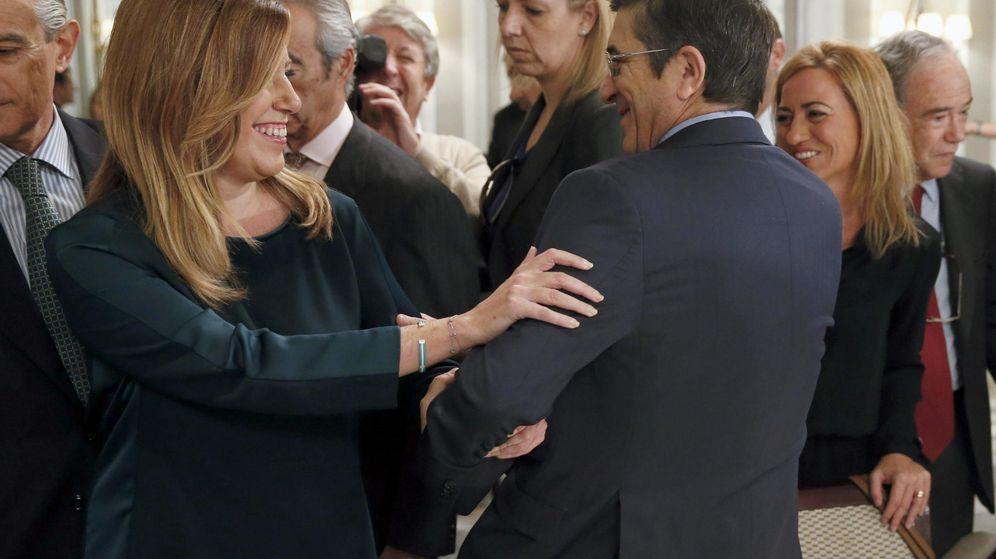 Foto: Susana Díaz y Patxi López, en una foto de archivo. (EFE)