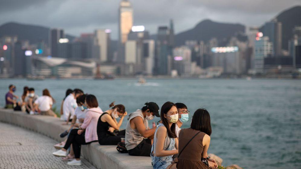 Foto: Hong Kong, la semana pasada. (EFE)