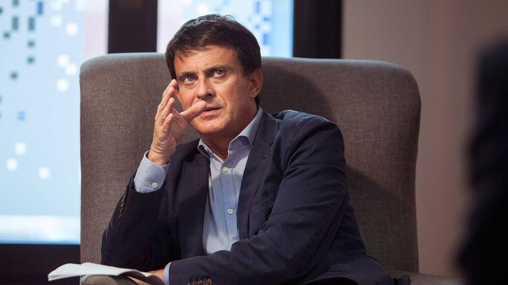 Foto: Manuel Valls. (Alberto Gamazo)