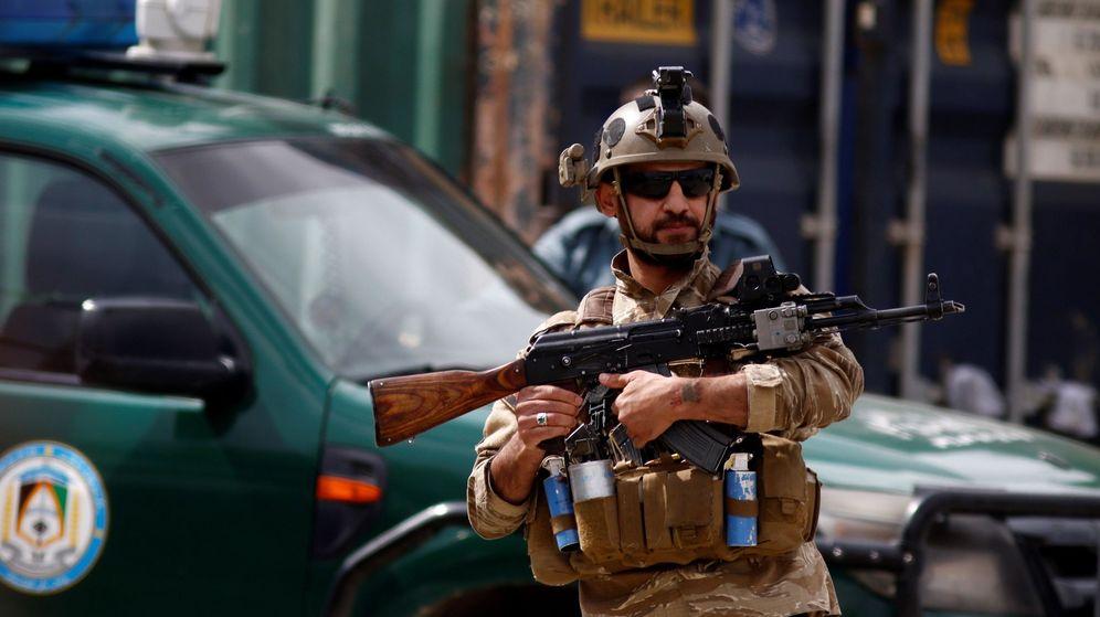 Foto: Soldado en Kabul. (EFE)