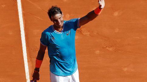 El nivel imposible de Rafa Nadal y el saludo con su amigo 'Baby Federer'