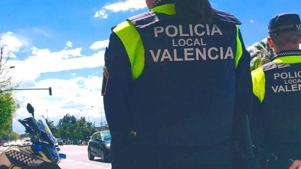 Foto: Agentes de la Policía de Valencia (Policía Local de València)