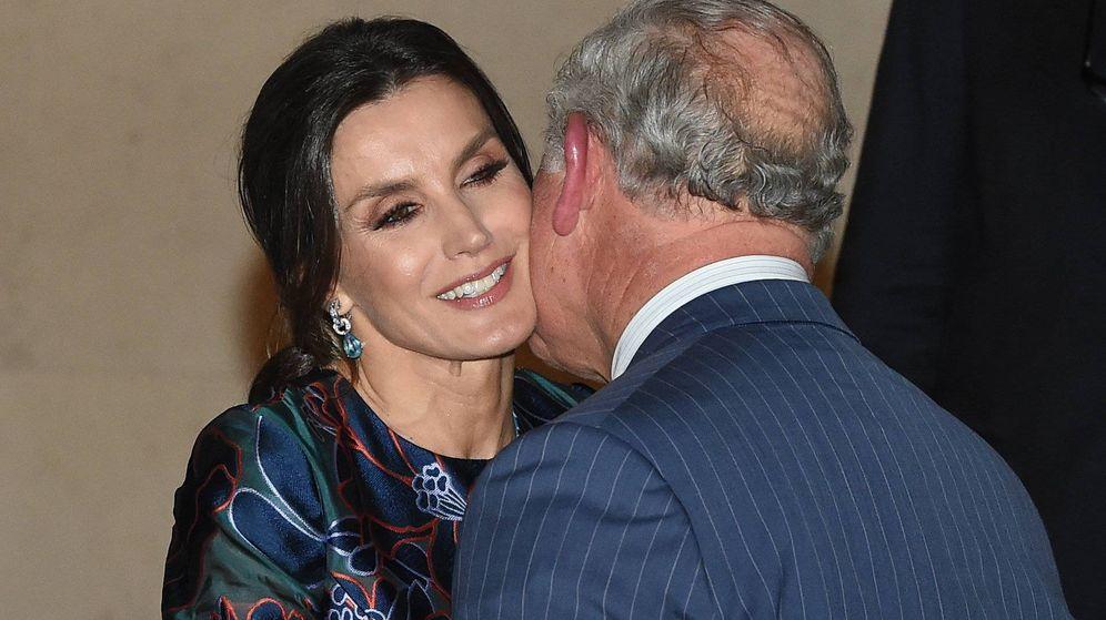 Foto: Letizia y Carlos en la National Gallery. (Cordon Press)