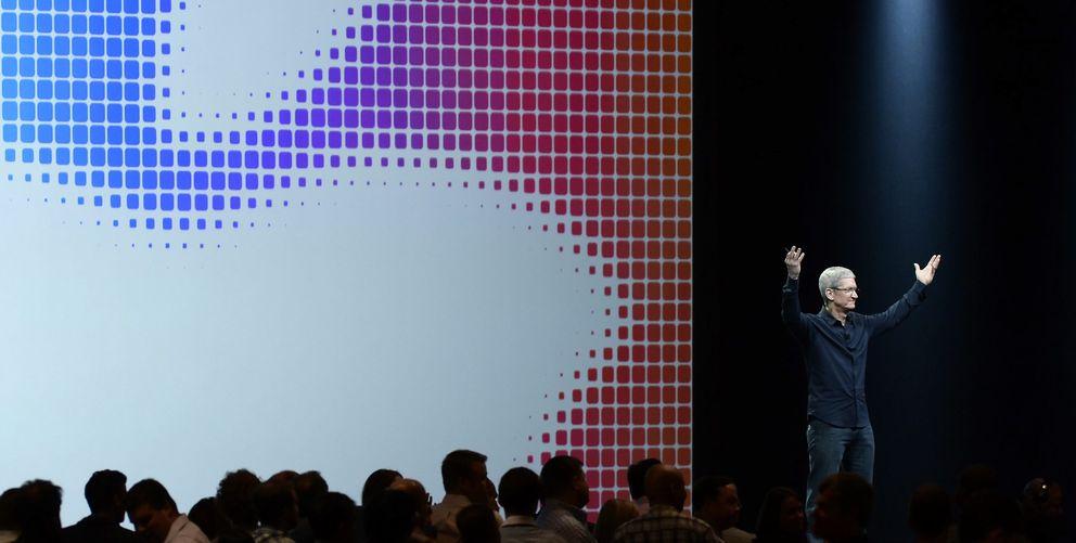 Foto: Tim Cook, CEO de Apple (Fotografía: Efe).