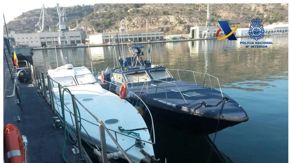 Foto: El material intervenido por la Policía y la Agencia Tributaria. (EFE)