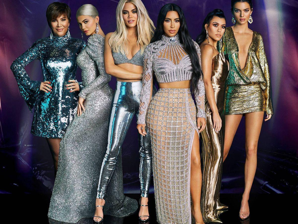 Foto: Imagen promocional de 'Keeping up with the Kardashians'. (Fox)