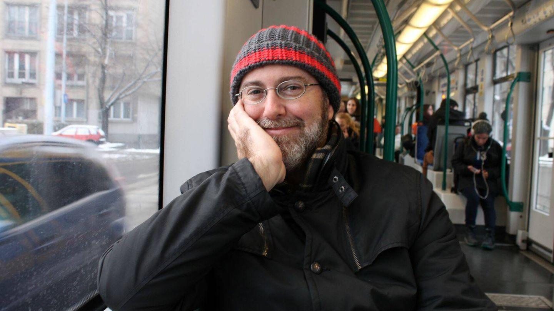 El editor Luis G. Prado en Budapest