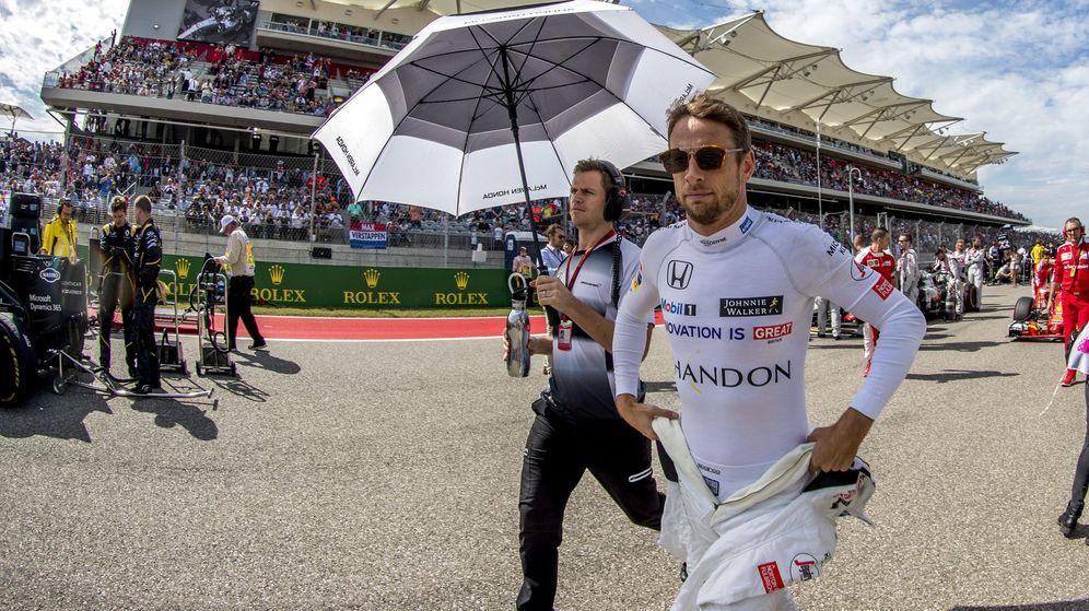 Foto: Jenson Button, en el Gran Premio de Estados Unidos de 2016. (EFE)