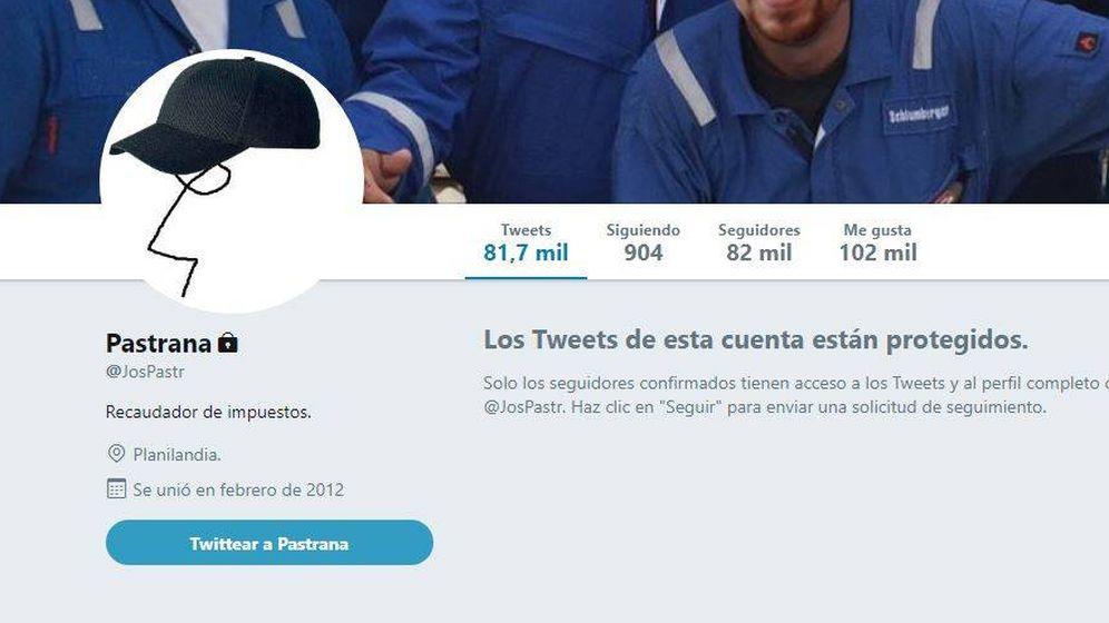 Foto: La supuesta cuenta de Twitter anónima de un edil del PP.