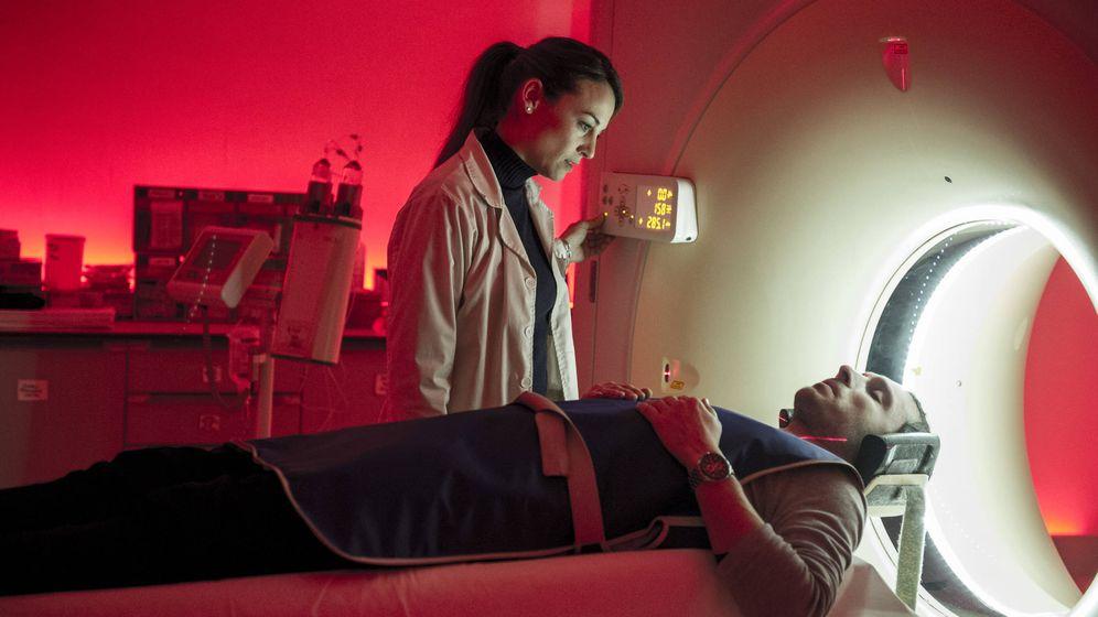 Foto: Leonor Watling y Pablo Derqui, protagonistas de 'Pulsaciones'.