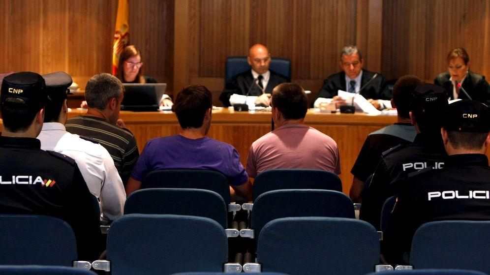 Foto: Los miembros del comando Elurra en la Audiencia Nacional. (EFE)