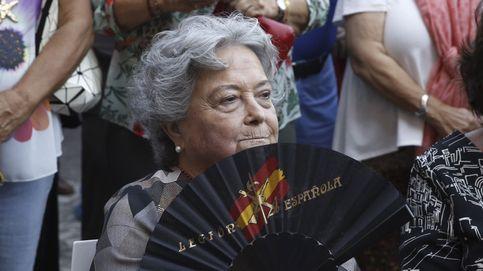 Concentración en Madrid a favor de Millán-Astray
