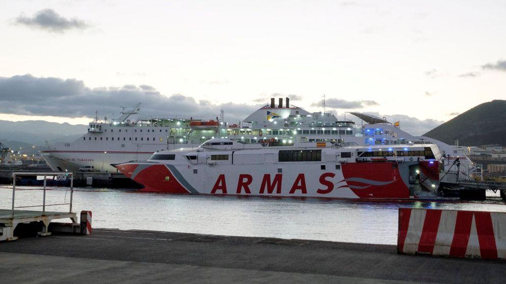 El Gobierno sale al rescate de Naviera Armas para mantener conectadas las islas