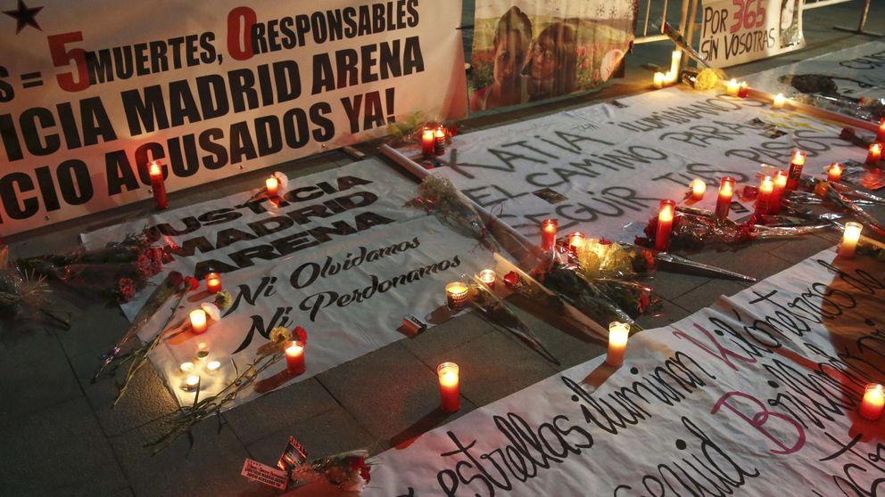 Tres imputados por el Madrid Arena, apartados y recolocados