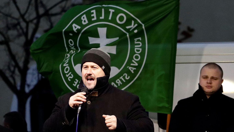 Marian Kotleba, líder del ultraderechista Nuestra Eslovaquia (LSNS). (Reuters)