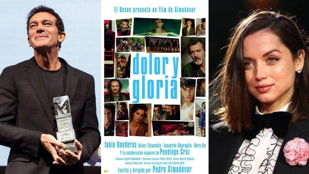 Foto: Nominados españoles en los Globos de Oro 2020