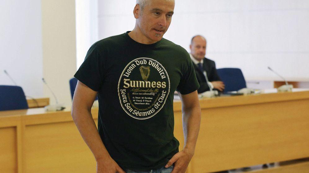 Foto: El etarra Txapote, durante un juicio por uno de sus atentados. (EFE)