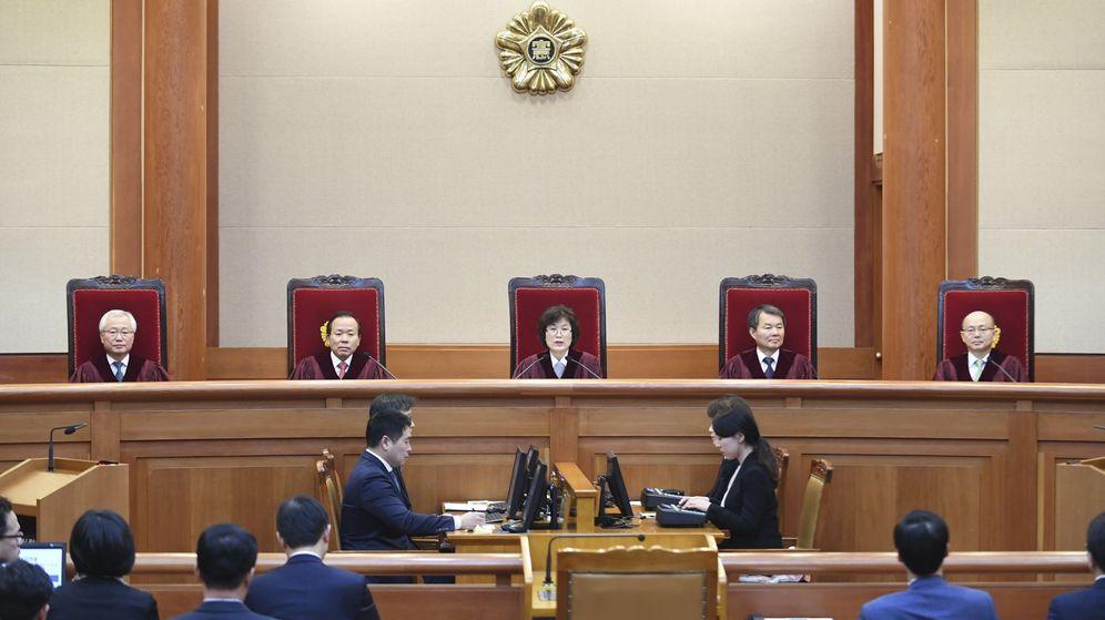 Foto: El Constitucional autoriza la destitución de la presidenta surcoreana. (EFE)