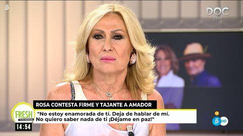 ¡No me busques!: Rosa Benito tapa la boca a Amador Mohedano en plena reconquista