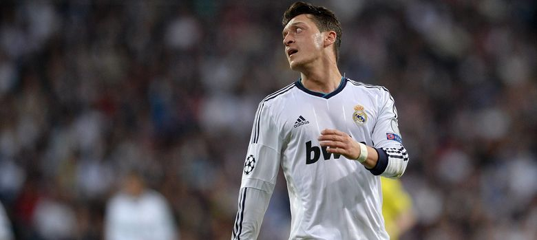 Foto: Mesut Özil durante la temporada pasada (Imago).