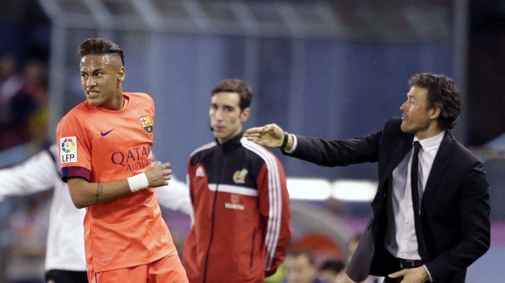 """Foto: Neymar no es la única """"chuminada"""" que Luis Enrique tiene en el vestuario del Barça"""