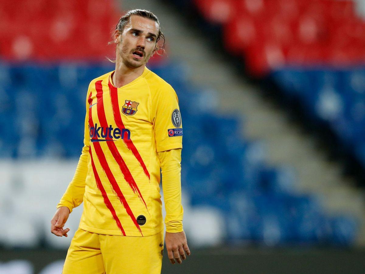 Foto: Griezmann, durante la temporada. (Reuters)