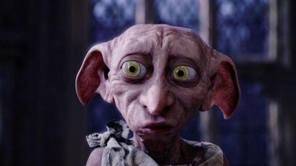 Foto: Dobby, el famoso elfo de Harry Potter