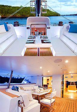 Foto: ¿Quiere el catamarán de Richard Branson? Por 65.000 € a la semana es suyo