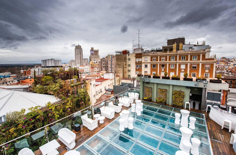 Foto: Así es Sunset Lookers, la terraza del hotel Santo Domingo. (Cortesía)
