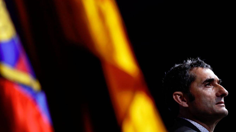 El único error de Valverde en su presentación con el Barcelona