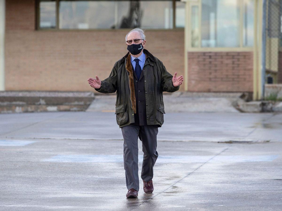 Foto: Rodrigo Rato abandona la prisión tras obtener el régimen de semilibertad. (EFE)
