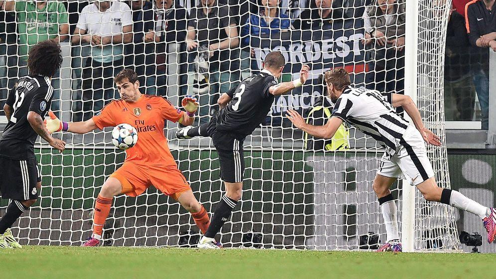 Foto: Casillas salvando una ocasión en el Juventus Stadium la semana pasada.