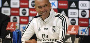 Post de Todos quieren saber los secretos de Zidane, pero él se resiste: