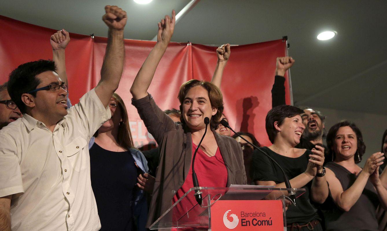 Ada Colau ha ganado las elecciones en Barcelona (EFE)