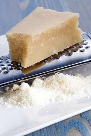 Un 'secundario' de lujo: el queso rallado