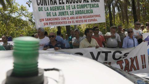 Guerra en el taxi andaluz: Hacemos frente a sus amenazas o ellos acaban con nosotros
