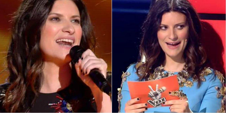 Foto: Laura Pausini en la final de 'La Voz 3'