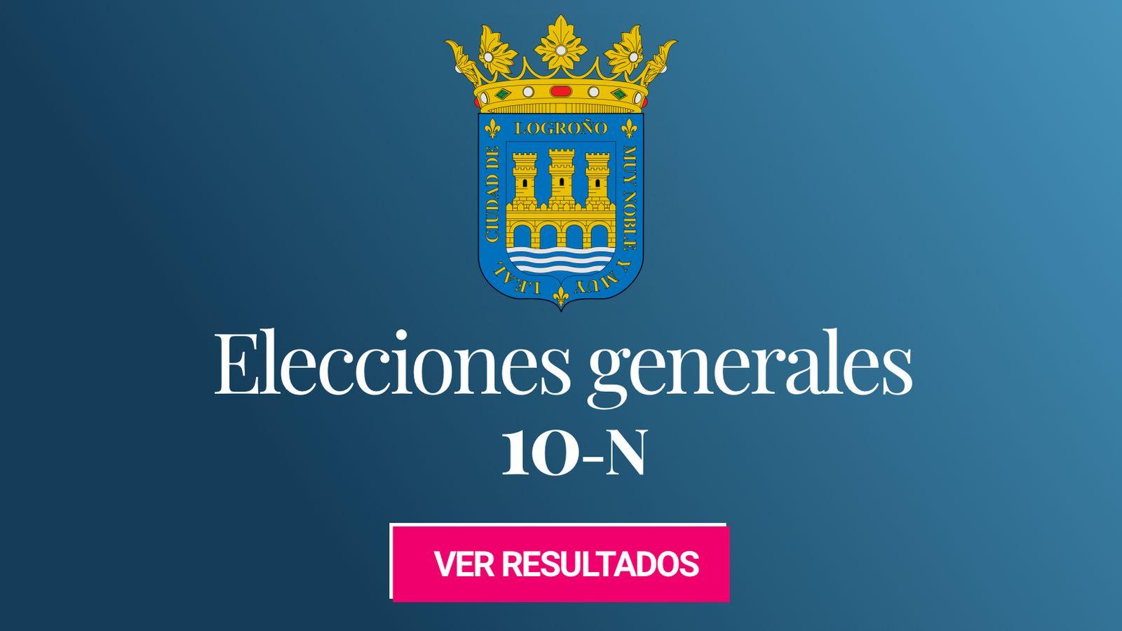 Foto: Elecciones generales 2019 en Logroño. (C.C./EC)