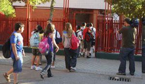 Sólo 70 de los 400 alumnos del instituto Isaac Albéniz de Leganés acuden a clase tras la reapertura del centro