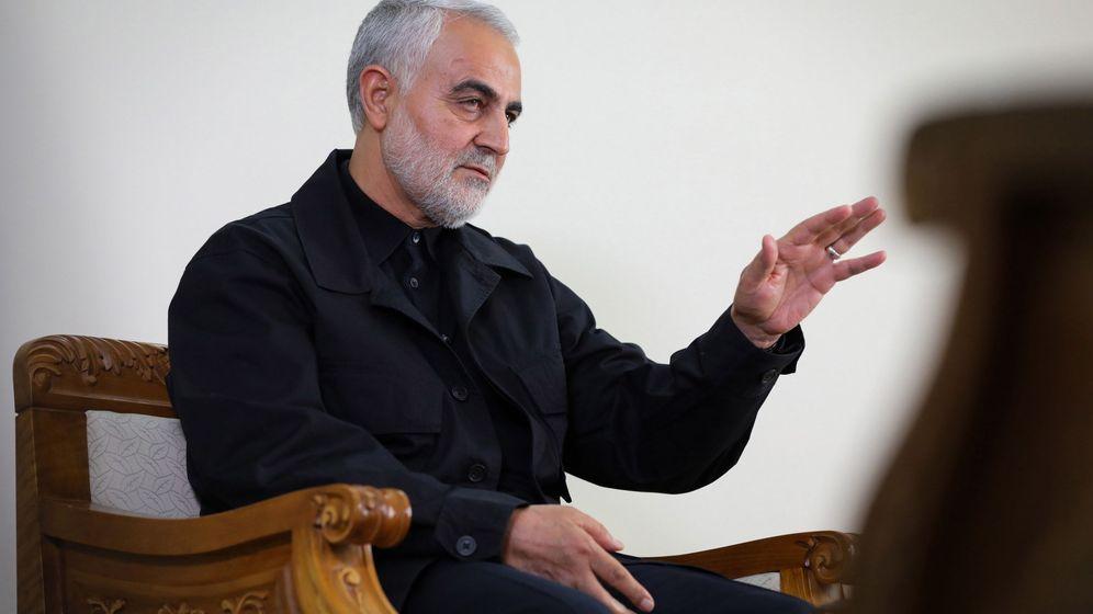 Foto: El general Qasem Soleimani. (EFE)