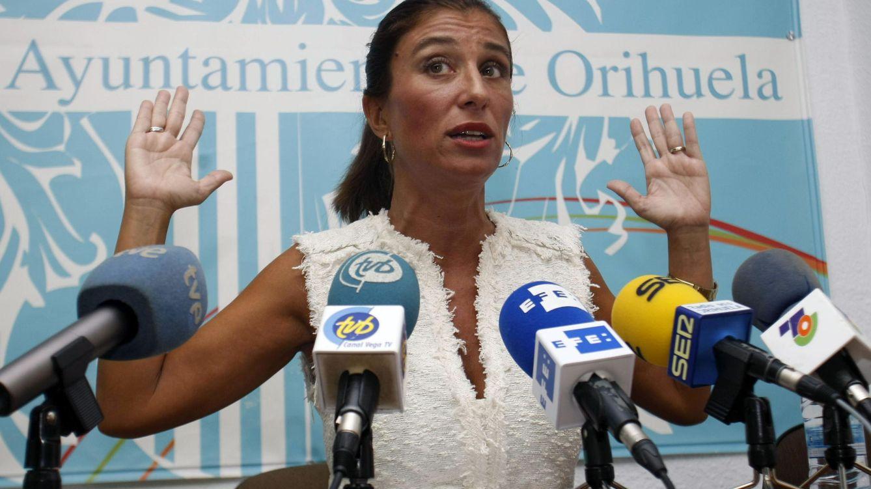 Foto: Mónica Lorente, exalcaldesa de Orihuela y una de las acusadas. (EFE)