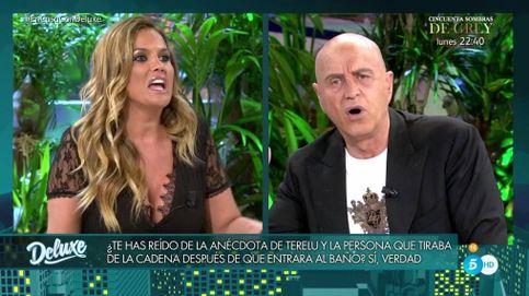 Marta López se lleva un rapapolvo de Kiko: Vienes a trincar al aquelarre