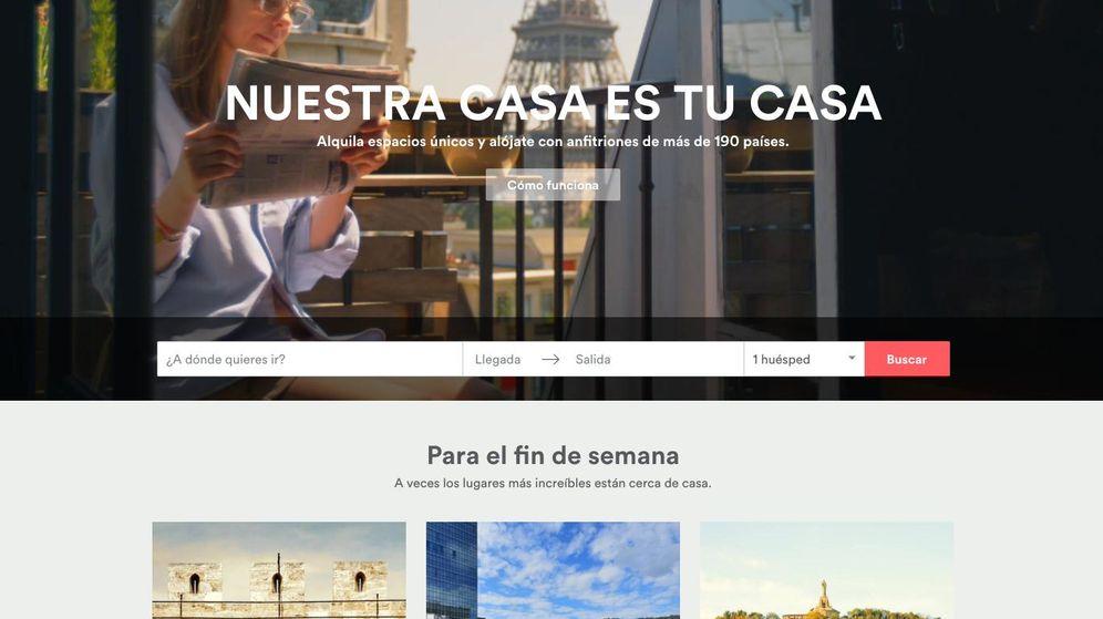 Foto: Captura de Airbnb, web para encontrar habitaciones o casas de sus propietarios