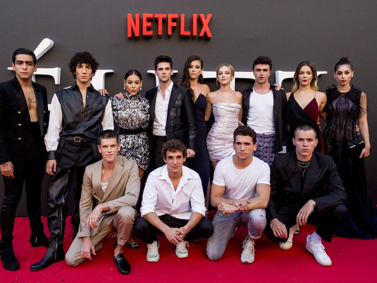Foto: Presentación de la segunda temporada de 'Élite'. (Getty)