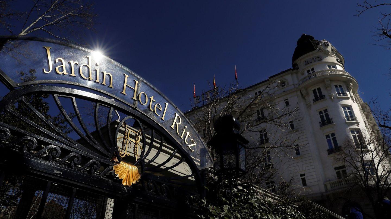 Vista del hotel Ritz de Madrid antes de la renovación. (EFE)