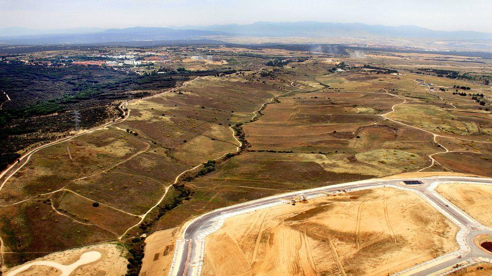 Foto: Terrenos de Los Carriles, en Alcobendas.