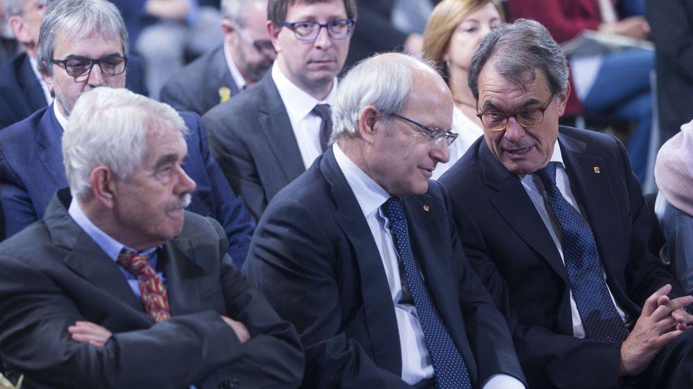 Foto: Pascual Maragall, José Montilla y Artur Mas. (EFE)