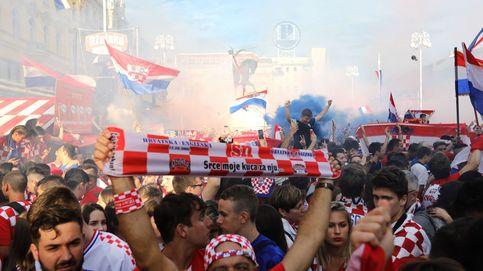 Así celebró Croacia su derrota
