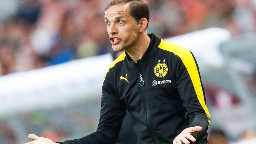 Foto: Thomas Tuchel, el técnico alemán que se hará cargo del Paris Saint Germain, durante un partido con el Borussia Dortmund. (EFE)