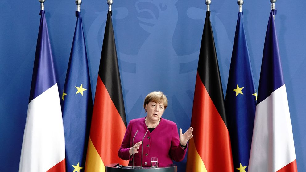 Macron y Merkel proponen un fondo contra el covid de 500.000 millones